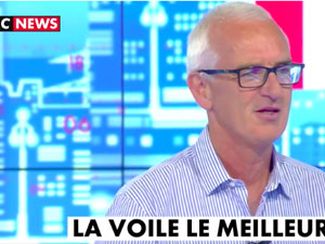 Yves Parlier parle LIBERTYKITE® chez Cnews !