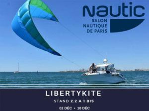 LibertyKite présent sur le Salon Nautique International de Paris – 02 DEC • 10 DEC – Porte de Versailles