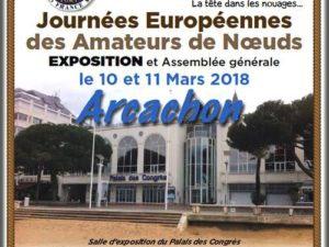 Yves Parlier et son équipe LIBERTYKITE® seront présents aux JOURNÉES EUROPÉENNES DES AMATEURS DE NOEUDS à Arcachon  –   10 Mars . 11 Mars 2018