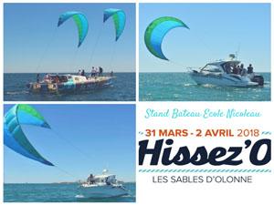 Yves Parlier et son équipe exposeront lors du Salon Hissez'O, le LIBERTYKITE®.